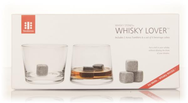 Whisky Stones Whisky Lover Set (2 Avva tumblers & 6 beverage cubes) Glassware Accessorie