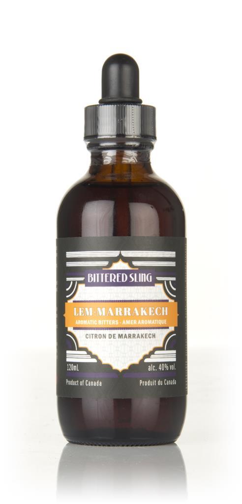 Bittered Sling Lem-Marrakech Bitters