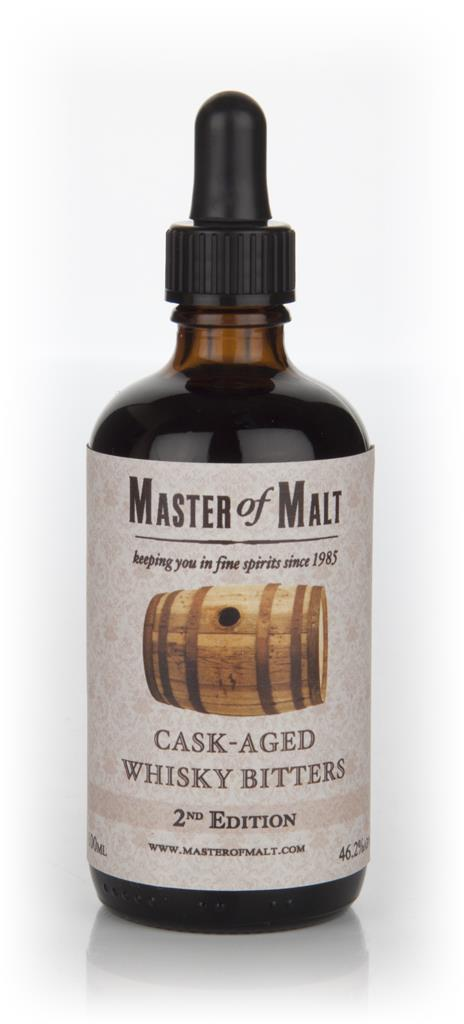 Master of Malt Cask-Aged Whisky Bitters 2nd Edition 10cl Bitters