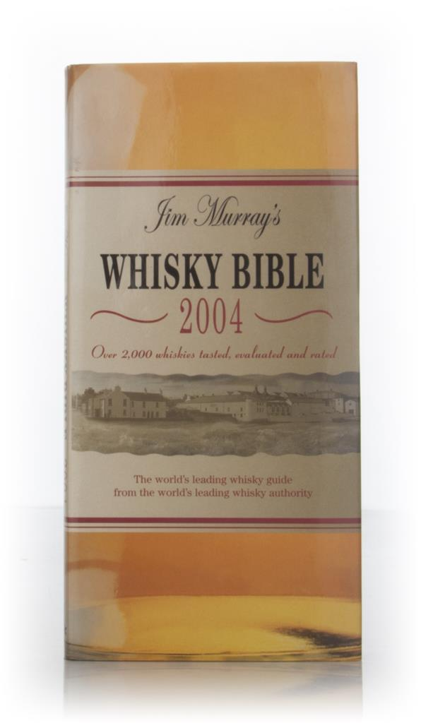 Signed copy of Jim Murrays Whisky Bible 2004 Books