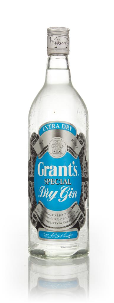 Grant's Special Dry Gin - 1970s 3cl Sample Gin