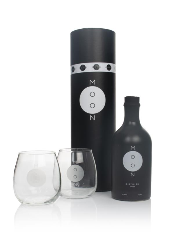 Moon Gin Gift Pack with 2x Glasses Gin