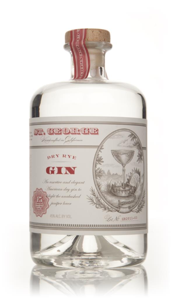 St. George Dry Rye Gin 3cl Sample Gin