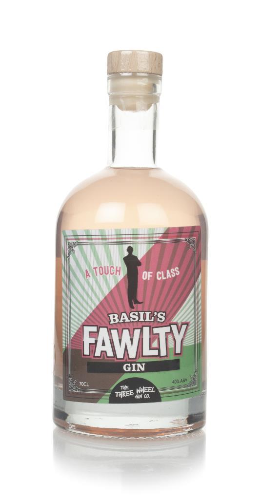 Three Wheel Gin Co. Basil's Fawlty Flavoured Gin