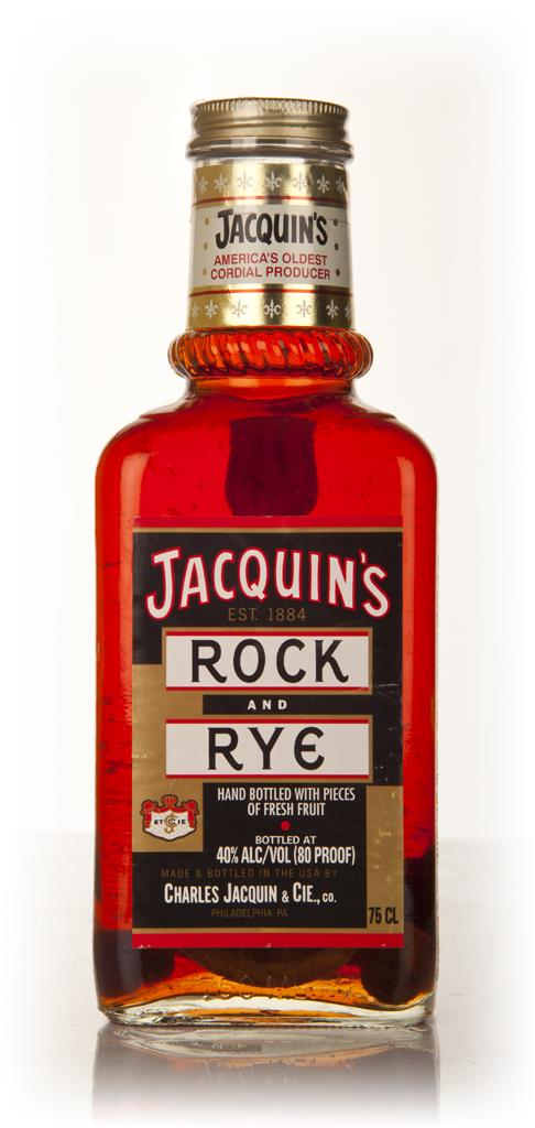 Jacquins Rock and Rye Liqueurs