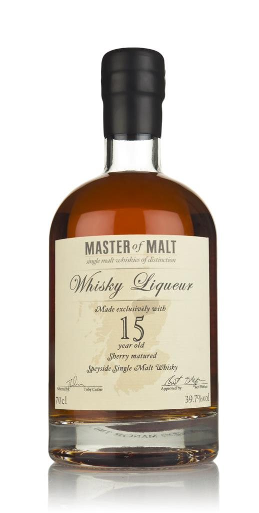 Master of Malt 15 Year Old Speyside Whisky Whisky Liqueur