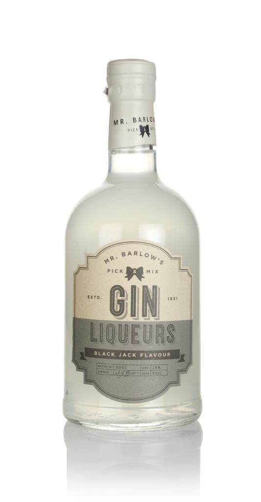 Mr. Barlow's Black Jack Gin Gin Liqueur