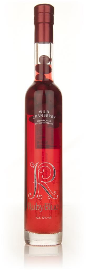 RubyBlue Bottle-Aged Wild Cranberry Fruit Liqueur