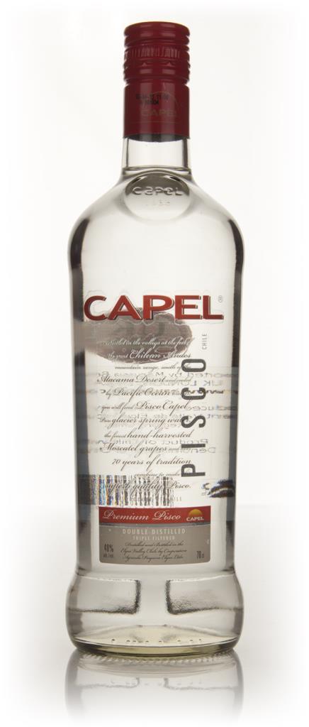 Capel Double Distilled Transparent Pisco 3cl Sample Plain Pisco