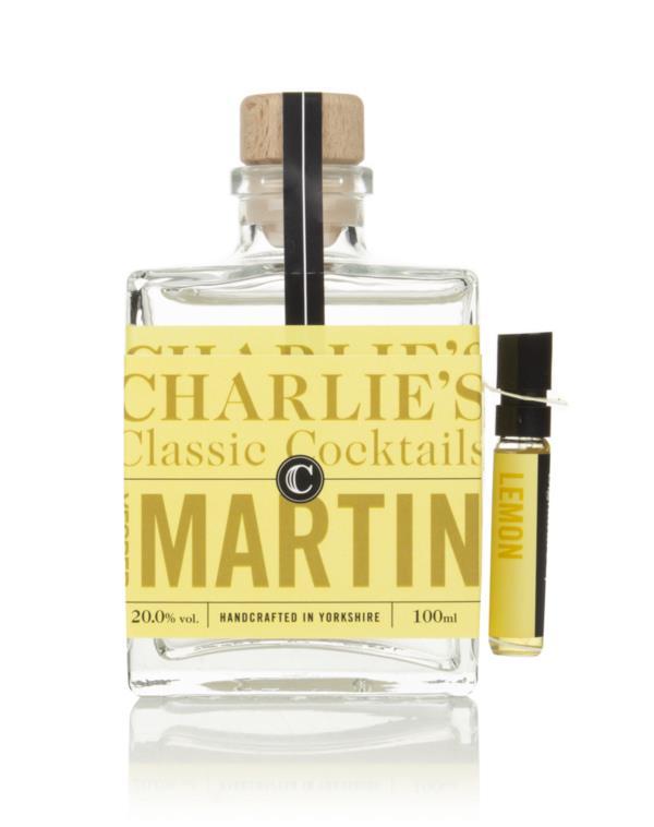 Charlie's Classic Cocktails Vesper Martini Pre-Bottled Cocktails