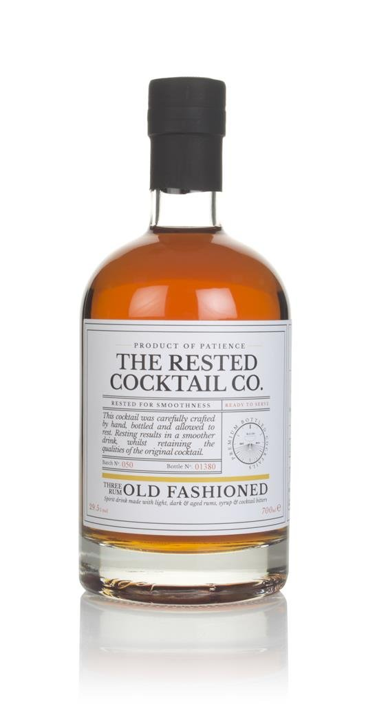 The Rested Cocktail Co. Three Rum Old Fashioned Pre-Bottled Cocktails