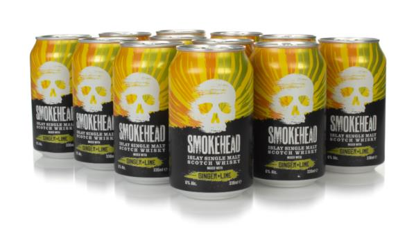 Smokehead with Ginger Ale & Lime (12 x 330ml) Ready to Drink