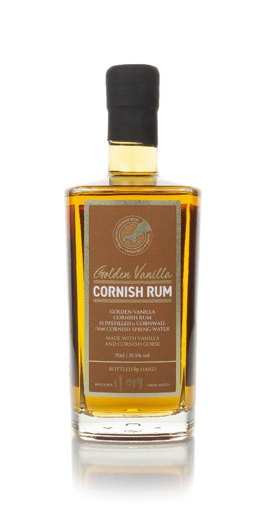 Cornish Rock Golden Vanilla Flavoured Rum
