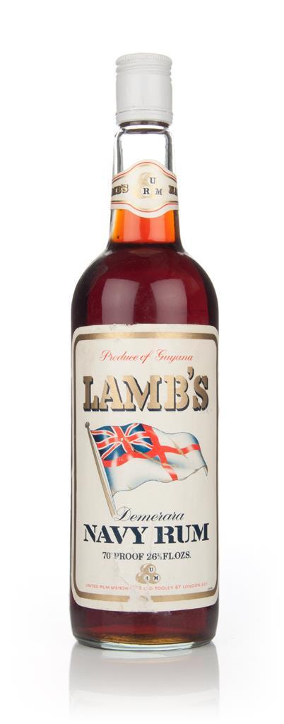 Lamb's Demerara Navy Rum - 1970s 3cl Sample Dark Rum