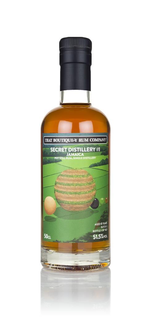 Secret Distillery #1 6 Year Old (That Boutique-y Rum Company) Dark Rum