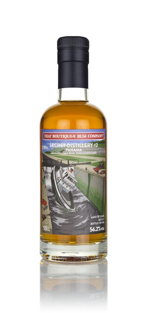 Secret Distillery #2 10 Year Old (That Boutique-y Rum Company) Dark Rum