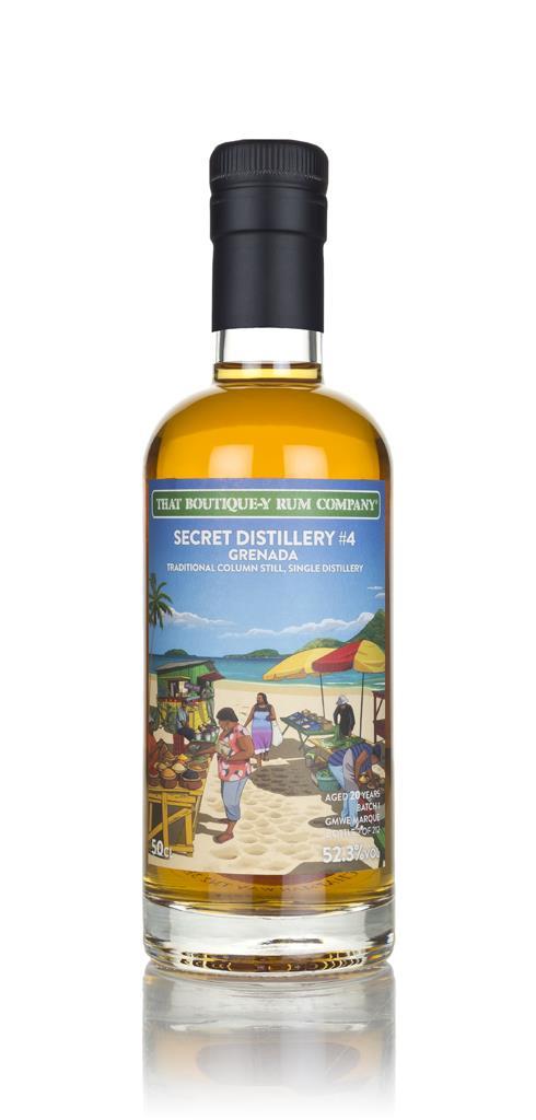 Secret Distillery #4 20 Year Old (That Boutique-y Rum Company) Dark Rum