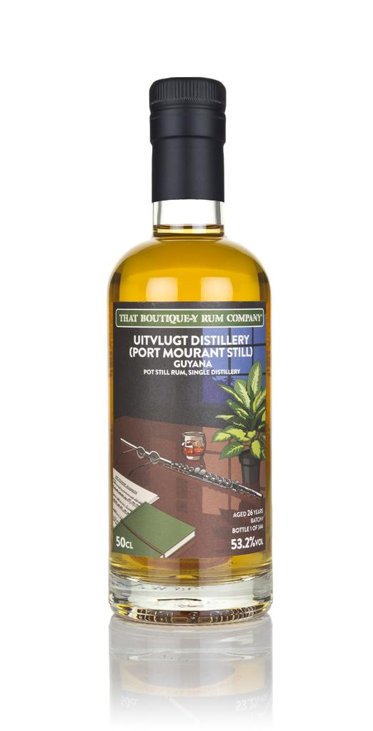 Uitvlugt (Port Mourant Still) 26 Year Old (That Boutique-y Rum Company Dark Rum