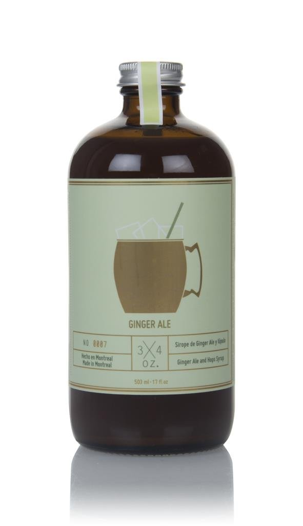 3/4 Oz. Ginger Ale Syrup Syrups and Cordials