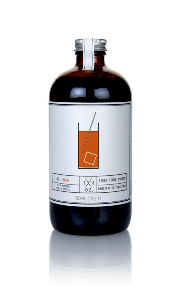3/4 Oz. Tonic Maison Syrup Syrups and Cordials