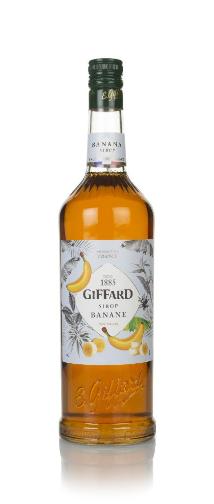 Giffard Banana Syrup Syrups and Cordials