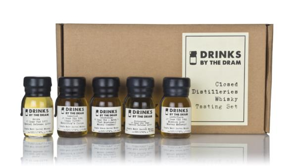 Closed Distilleries Whisky Tasting Set Single Malt