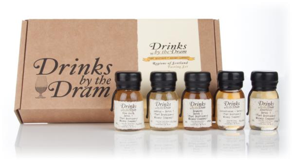 That Boutique-y Whisky Company - Regions of Scotland Tasting Set Whisky Tasting set