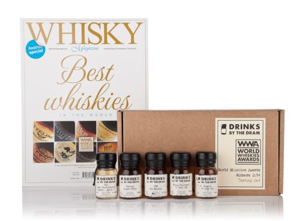 World Whiskies Awards Winners 2014 Tasting Set Whisky Tasting set