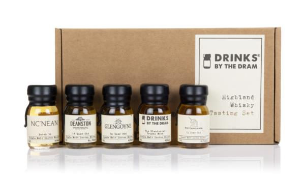 Highland Whisky Tasting Set Single Malt