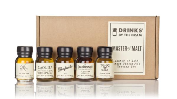 Master of Malt Staff Favourites Tasting Set Single Malt Tasting set