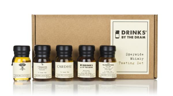 Speyside Whisky Tasting Set Single Malt Tasting set