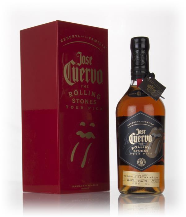 Jose Cuervo Reserva de la Familia - The Rolling Stones Tour Pick 3cl Extra Anejo Tequila 3cl Sample