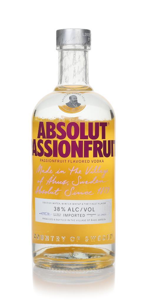 Absolut Passionfruit Flavoured Vodka