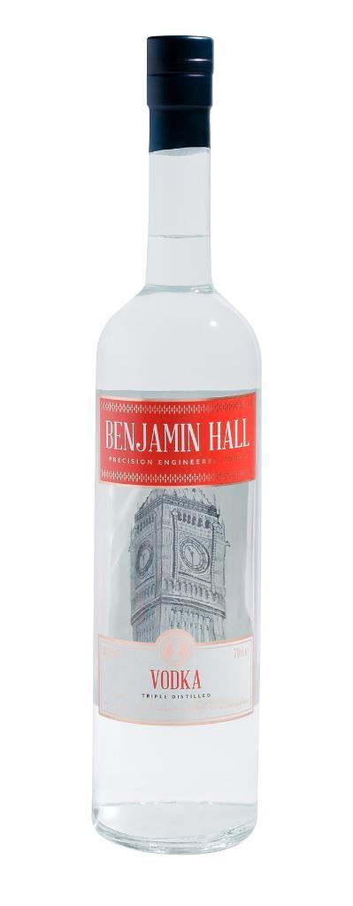 Benjamin Hall Plain Vodka