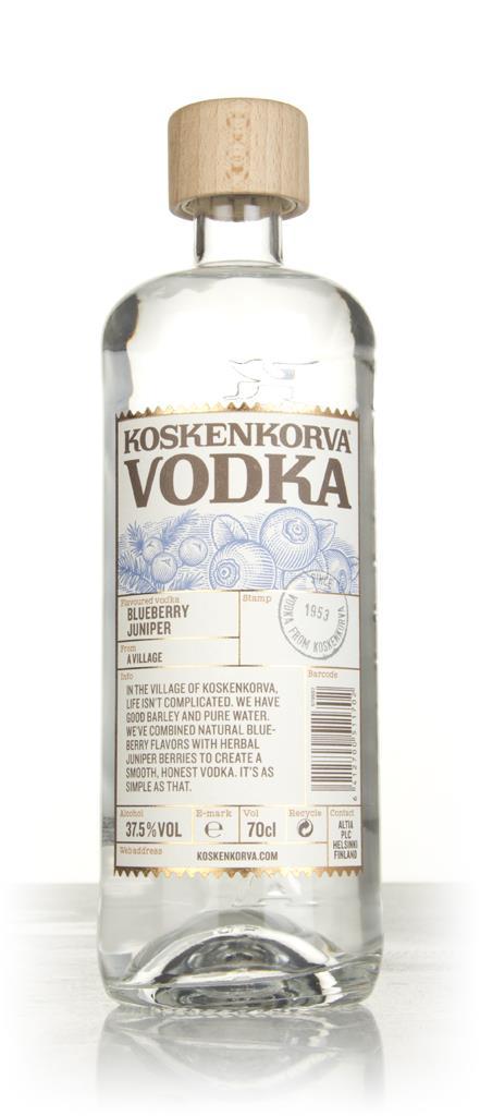 Koskenkorva Blueberry Flavoured Vodka