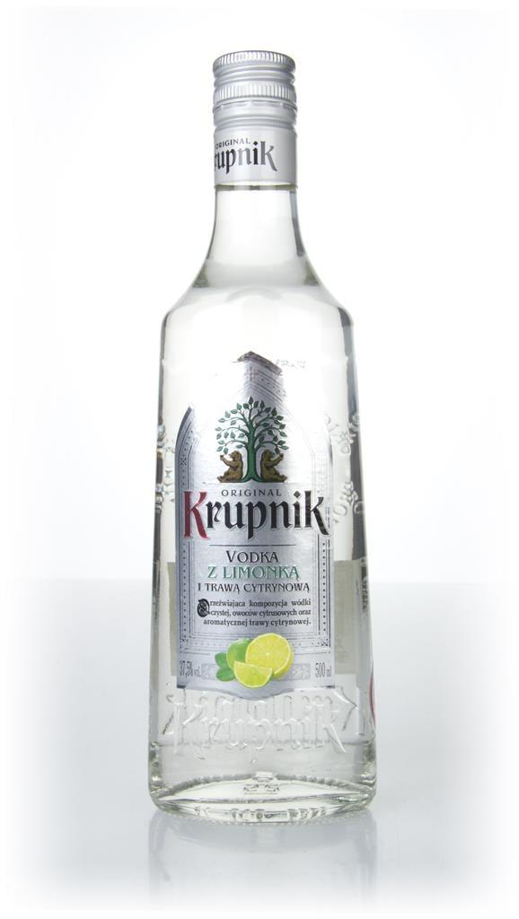 Krupnik Lemongrass & Lime Flavoured Vodka