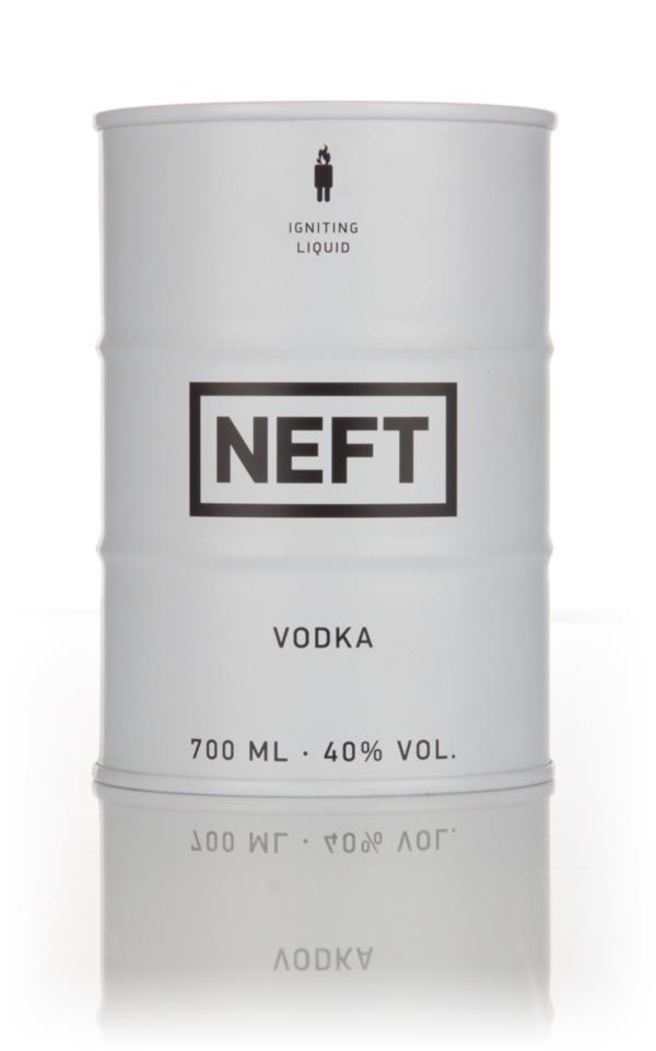 NEFT Vodka White Barrel 3cl Sample Plain Vodka