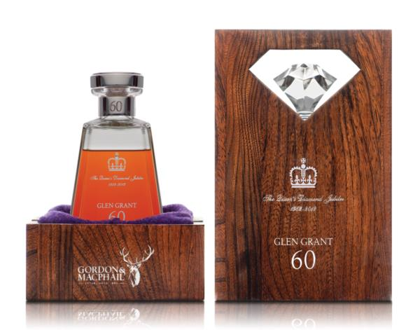 Glen Grant 60 Years old Queen Elizabeth II Diamond Jubilee (1952-2012) Single Malt