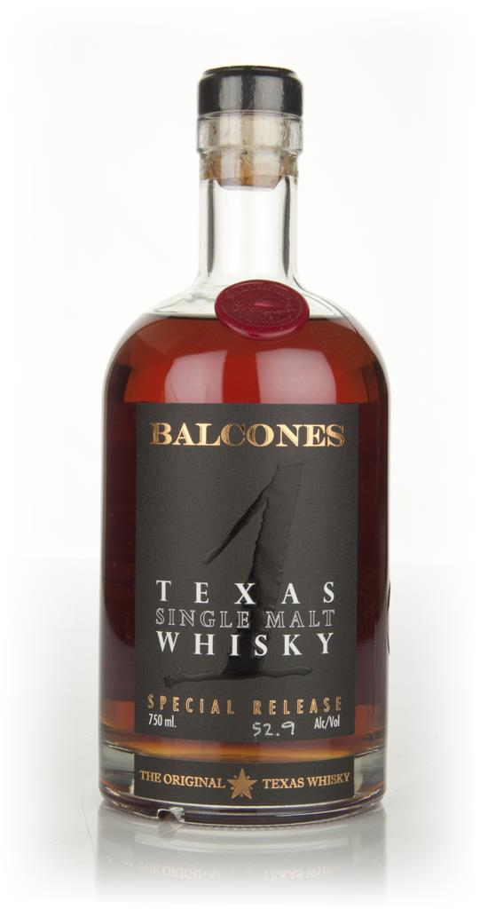 Balcones Texas Single Malt  52.9% Single Malt Whiskey