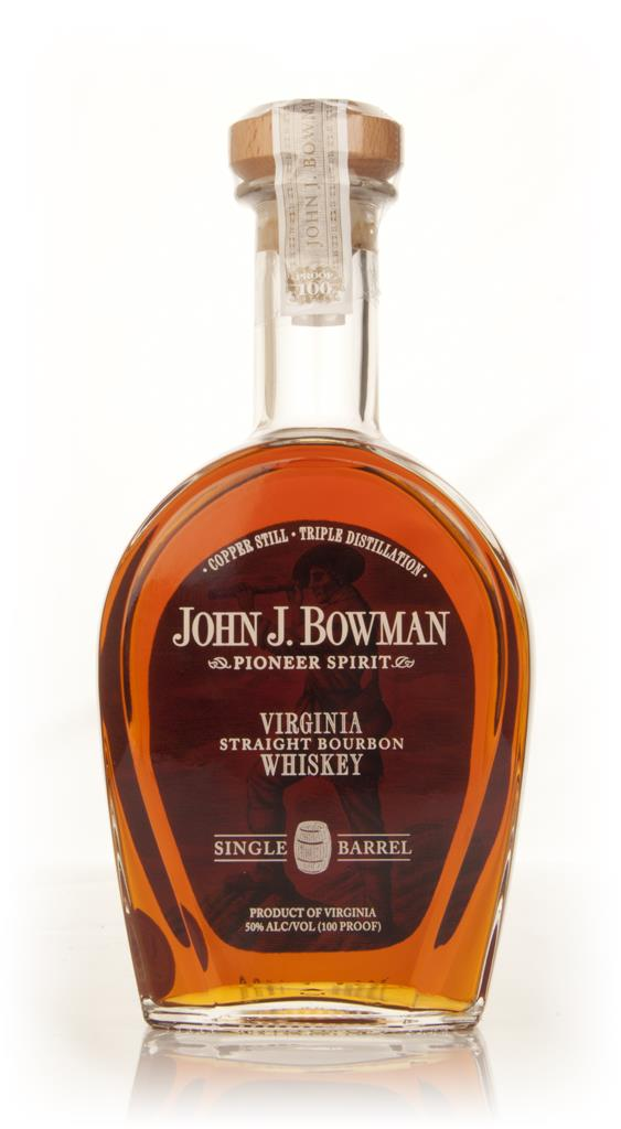 John J Bowman Single Barrel Bourbon Whiskey
