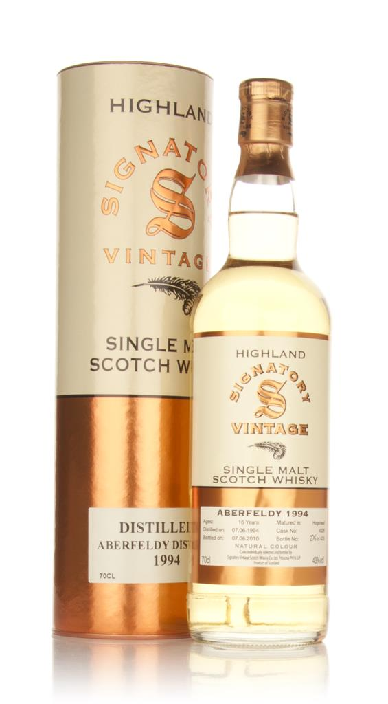 Aberfeldy 16 Year Old 1994 (Signatory) Single Malt Whisky