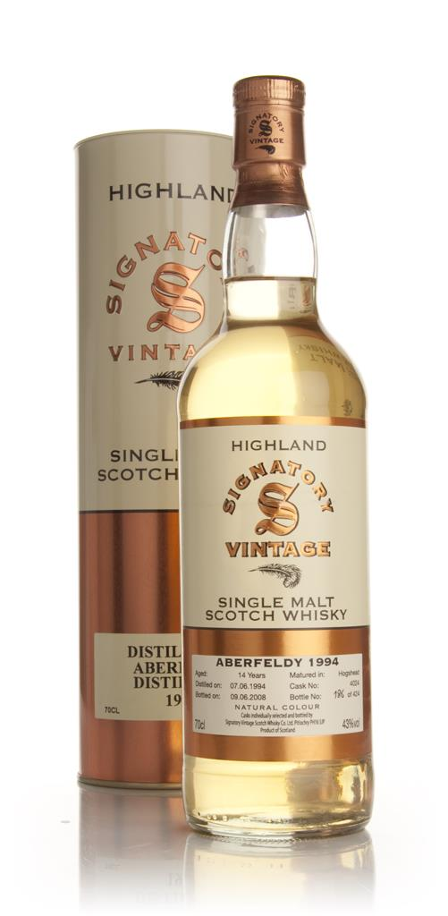 Aberfeldy 14 Year Old 1994 (Signatory) Single Malt Whisky