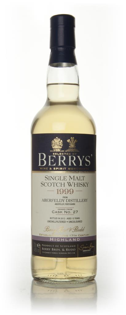 Aberfeldy 12 Year Old 1999 (Berry Brothers and Rudd) Single Malt Whisky