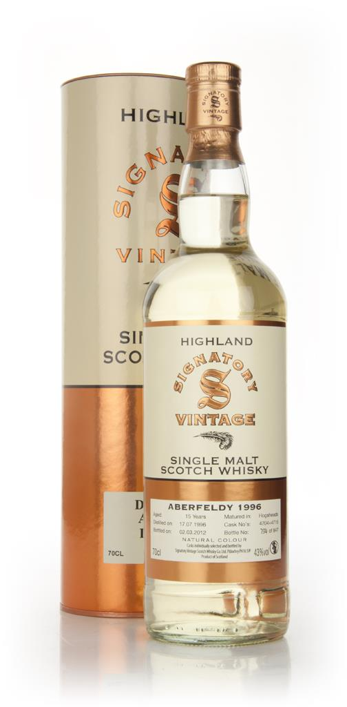 Aberfeldy 15 Year Old 1996 (Signatory) Single Malt Whisky