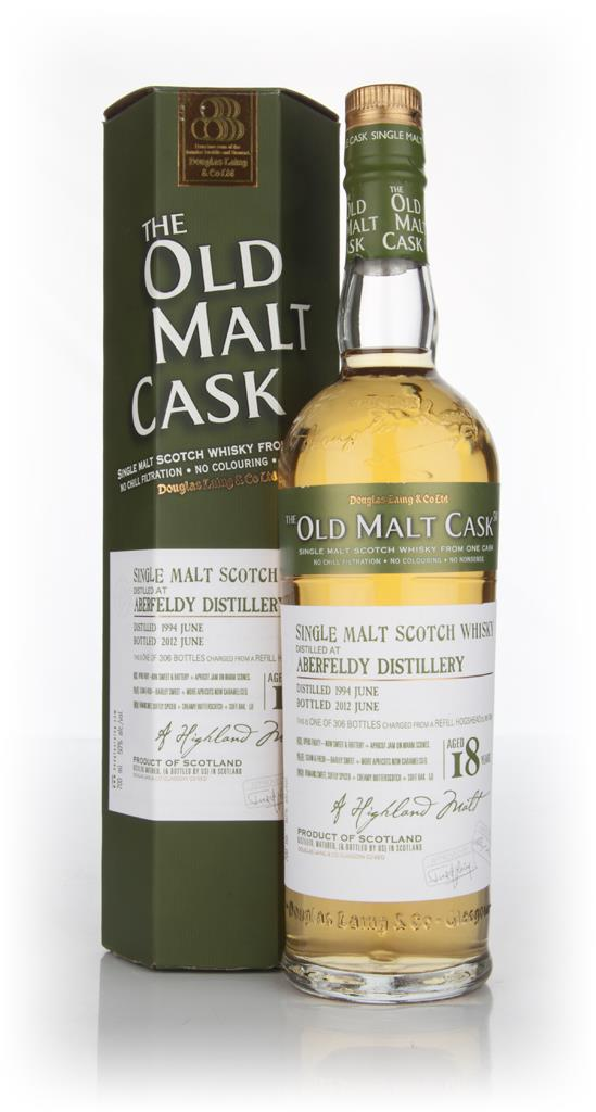 Aberfeldy 18 Year Old 1994 Cask 8264 - Old Malt Cask (Douglas Laing) Single Malt Whisky
