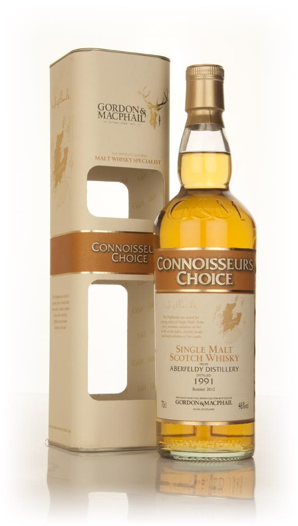Aberfeldy 1991 - Connoisseurs Choice (Gordon & MacPhail) Single Malt Whisky