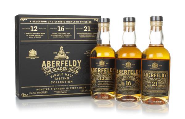 Aberfeldy The Golden Dram Tasting Collection (3 x 20cl) Single Malt Whisky