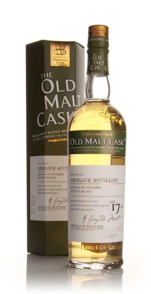 Aberlour 17 Year Old 1990 - Old Malt Cask (Douglas Laing) Single Malt Whisky