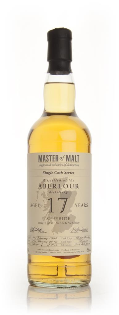 Aberlour 17 Year Old - Single Cask (Master of Malt) Single Malt Whisky