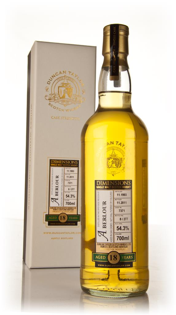Aberlour 18 Year Old 1993 - Dimensions (Duncan Taylor) Single Malt Whisky
